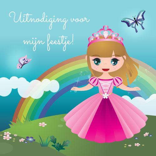 Prinsessen Uitnodigingen