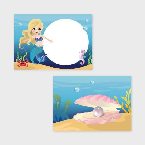 Zeemeerminnen Traktatiekaartje