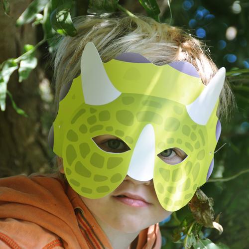 Dino Knutsel Masker
