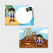 Piraten Traktatiekaartje