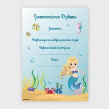Zeemeerminnen Diploma