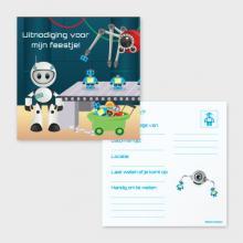 Robots uitnodigingen