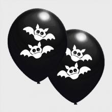 Zwarte Griezel ballonnen