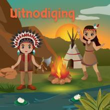 Indianen uitnodigingen