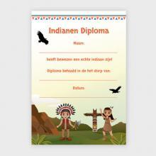 Indianen Diploma