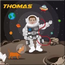 Canvas Astronauten