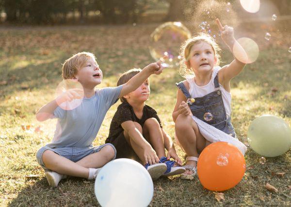 Kinderfeestje buiten